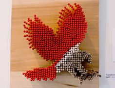 Match Stick Art - Eagle