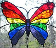 butterfly stained glass window - Google Search