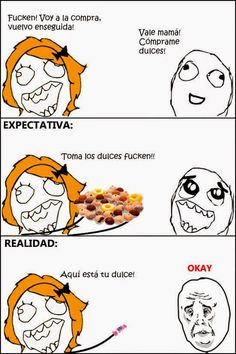A continuación una recopilación de memes graciosos y divertidos en español para compartir en tu facebook. No te los pierdas!              ...