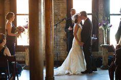 Cuvee Wedding Ceremony - Milwaukee Wedding Photographer - Cream city brick venue