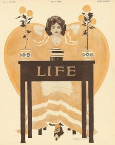 Coles Phillips : Cover art for Life Magazine, 21 May 1908