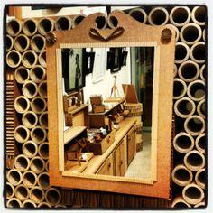 Espejo de cartón