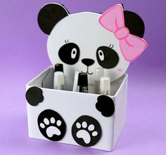 This one looks really fun craft project💞Check out website for a step-by-step guide on how to make this DIY panda decor✨ Kids Crafts, Animal Crafts For Kids, Diy Crafts Hacks, Diy Home Crafts, Diy Arts And Crafts, Craft Stick Crafts, Creative Crafts, Diy For Kids, Easy Crafts