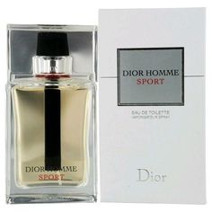 Dior Homme Sport by Christian Dior 3.4 oz EDT Cologne Spray for Men New in Box #ChristianDior