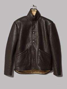 9ce46f46b3e Y.M.C. Sheepskin Jacket (Brown)