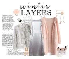 """""""Winter Layers:  Slip Dress"""" by sassyscribe ❤ liked on Polyvore featuring Kevin Jewelers, Chicwish, Giuseppe Zanotti, Maison Margiela, Betsey Johnson, Marc by Marc Jacobs, Honora, Dettagli, women's clothing and women's fashion"""