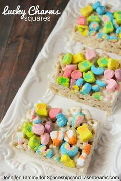 Lucky Charms Squares | St. Patrick's Day | Dessert Recipe