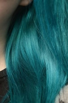 Perfect teal hair color