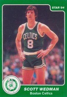 3f7d8f396852 Scott Wedman  8 1983-87. Lee Jones · Boston Celtics Players