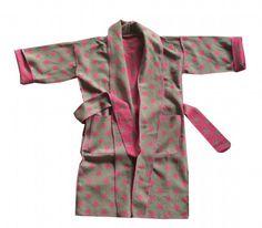 David Fussenegger Kimono Sterne Pink