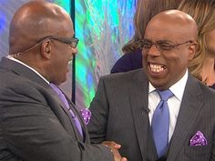 "Al Roker, weatherman on the ""Today"" show has a twin"