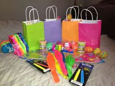 Neon / Glow in the Dark Birthday Party Ideas | Photo 1 of 6