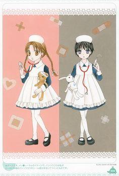 Tachibana Higuchi, Gakuen Alice, Gakuen Alice Illustration Fanbook, Mister Bear, Mikan Sakura