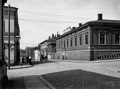 7. Hallituskatu vuonna 1907. Helsinki, Map Pictures, Before Us, Good Old, Finland, Louvre, World, Building, Travel