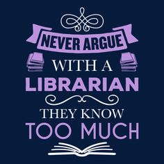 Librarian - Never Argue - - 14