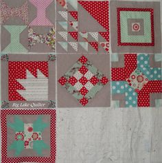 Loving the fabulous Aurifill Designer Block of the Month progress from http://auribuzz.wordpress.com/ by Cathy Patterson Buel from Big Lake Quilter!  To see more please visit http://wwwbiglakequilter.blogspot.com/2014/07/july-boms.html