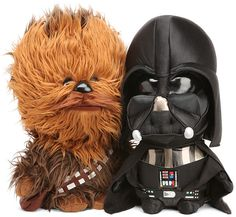 These talking Star Wars plushes come in sizes from (keychain) to Each one plays a signature sound effect or phrase from the movies. Choose from Chewbacca, Darth Vader, Boba, Jawa, or Yoda. Toy Art, Charlie Chaplin, Geeks, Dark Vader, Chibi, Star Wars Gifts, Love Stars, Geek Out, Geek Culture