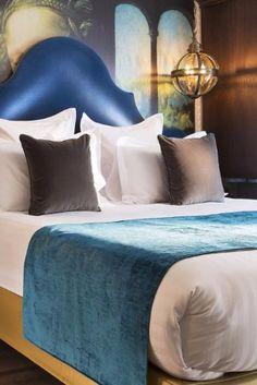 Italian interior designer Luana Bellusci has woven a Da Vinci theme throughout the hotel. Hotel Da Vinci & Spa (Paris, France) - Jetsetter