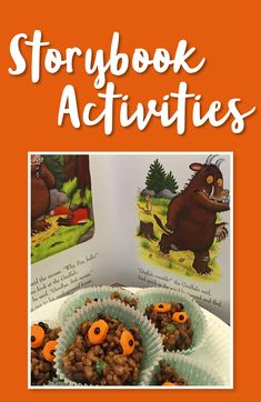 Have some fun to go alongside your kids' favourite books! Gruffalo Eyfs, Gruffalo Activities, Eyfs Activities, Nursery Activities, The Gruffalo, Infant Activities, Activities For Kids, Toddler Fun, Toddler Crafts