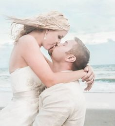 Beach wedding Photography by Suzanne Buczak