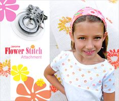 Machine Accessories We Love: Janome Flower Stitch Attachment | Sew4Home <-- reminder to self - you have this (or a similar?) foot - USE IT :D
