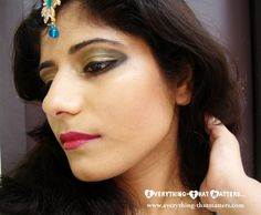 L'oreal Paris Bollywood Inspired Look-3 | Everything-That Matters...