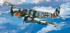 "Henschel Hs 129B-2 ""Panzerknacker"" or armour-killer. by Takayoshi Wada"