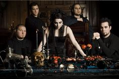 Evanescence (old band members) but such a bad ass picture ;)