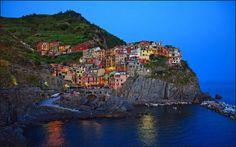 A coastal city of Italy (Photobucket)