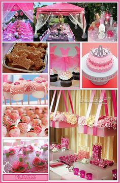 Resultado de imagen para princess decoration ideas party