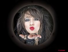 Best Photographer with to models photographers at www.onlybadassery.com #onlybadassery #toritollison #blowkiss #photography