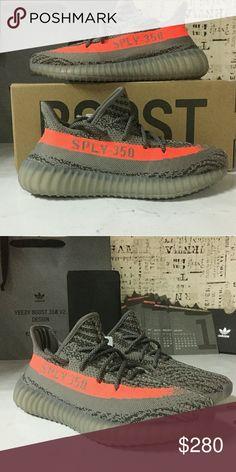 a84ab70f7efa2 Adidas yeezy sply v2 beluga orange grey BB1826 Size   5-12.5  Color  black  red by9612