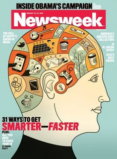 Newsweek Cover Illustration by Harry Campbell