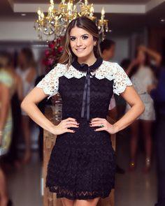 """{Black&White} Vestido @segrettoloja com mix de rendas! ❤️ • #aboutlastnight…"