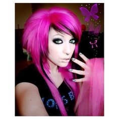 Search Results for emo hair   Lockerz ❤ liked on Polyvore featuring hair and hair and wig