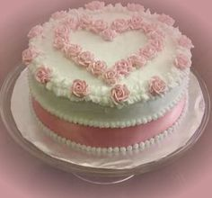 Heart rose cake -  & other valentine cakes with prices.. http://m.douxcafe.webnode.com/cakes/valentines-day/