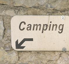 camping downstairs
