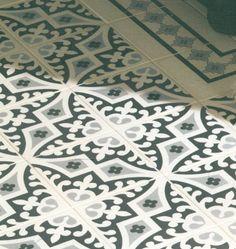 Edwardian Tiles - Romanesque 8024V Floor