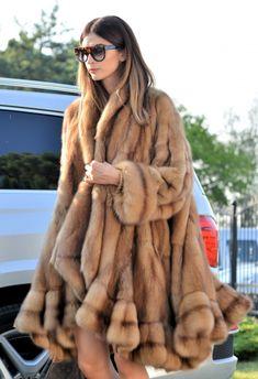 sable furs - new natural russian sable fur coat - swinger Fabulous Furs f2b5e258b997