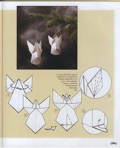 Angioletti in origami