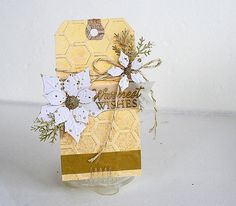 scrapbooking with tags | Golden Inspiration: Tagged with Gold | Scrapbook Tags