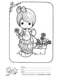 presious moments on Pinterest | Precious Moments, Coloring ...