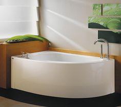 Corner Bathtub On Pinterest Corner Tub Bathtubs And Bathroom