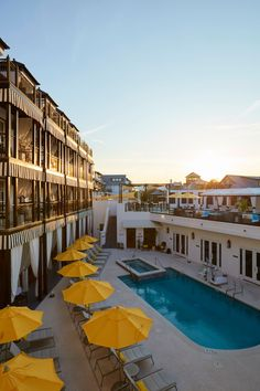 Experience uninterrupted views of the Emerald Coast skyline at the Havana Beach Rooftop Lounge, the exclusive rooftop lounge at The Pearl Hotel. Havana Beach, Rosemary Beach Florida, Rooftop Lounge, Environment, Skyline, Pearl, Places, Travel, Outdoor