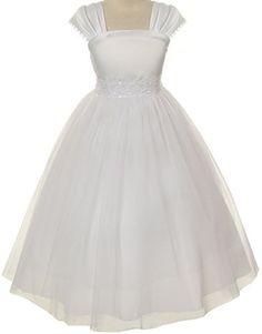 Flower Girl Cap Sleeved Beaded White Dress First Holy Com... https://www.amazon.com/dp/B00K727YVO/ref=cm_sw_r_pi_dp_x_ZyTwyb8W6QE0E