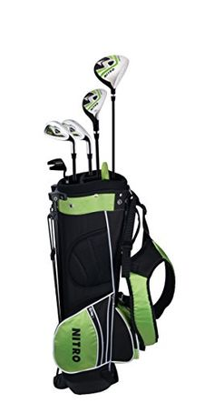 Nitro Crossfire Kid's Golf Club Complete 8 Piece Set, Right Hand, Ages 5-8