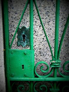 Mausoleum Gate at Laurel Hill Cemetery, Philadelphia by Star Cat, via Flickr