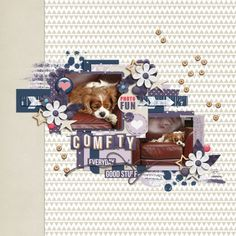 Comfty - Two Tiny Turtles | Live Each Moment bundle, Everybodys Got Somebody - template