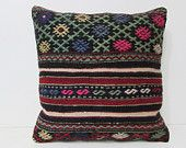 20x20 kilim pillow 20x20 large boho pillow large rug large decorative pillow big decorative pillow large pillow cover euro pillow sham 28411