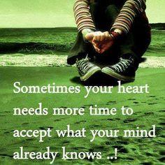 Broken heart....